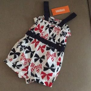 Gymboree Bottoms - Brand New Patriotic 🇺🇸 Little Girls Romper